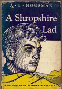 A Shropshire Lad, book cover