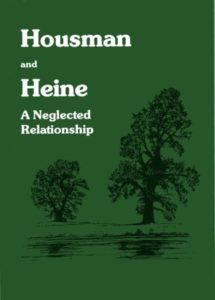 Book: Housman and Heine